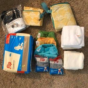 Flips Cloth Diaper Bundle